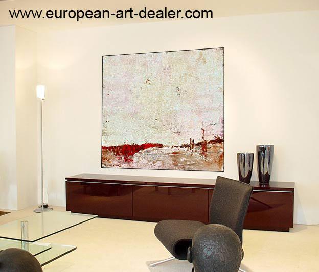 the art of selling art. - Moderne Leinwandbilder Wohnzimmer